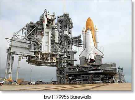 Poster Home Decor Wall Art Space Shuttle Taking Off On A Art//Canvas Print