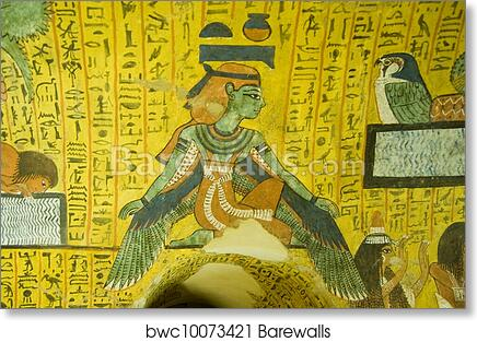Art Print of Ancient Egyptian Goddess Nut | Barewalls Posters ...