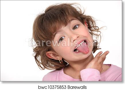 Out woman sticking tongue Beckwith