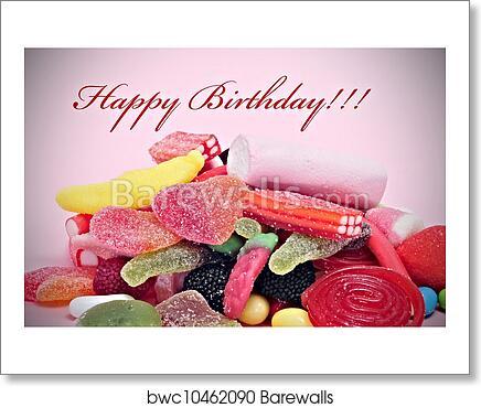 Art Print Of Happy Birthday Barewalls Posters Prints Bwc10462090