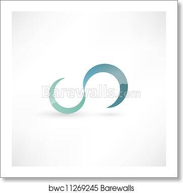 Art Print Of Infinity Symbol Barewalls Posters Prints Bwc11269245