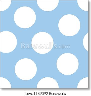 Baby Blue Background Art Print Barewalls Posters Prints