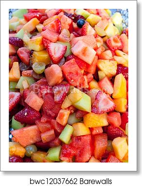Art Print of Wedding Fruit Platter   Barewalls Posters & Prints ...
