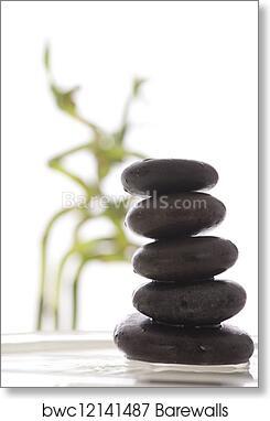 Zen Stones Art Print Barewalls Posters Prints Bwc12141487