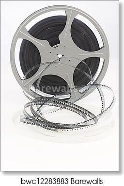 Art Print Of Movie Film Reel Barewalls Posters Prints Bwc12283883