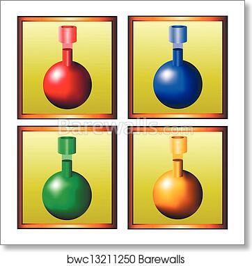 Magic potion art print poster