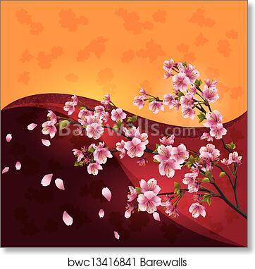 lilac garden PRINTED Spring tree wedding invitation sakura purple custom wedding set summer cherry blossom