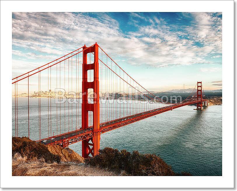 golden gate bridge san francisco art print canvas print