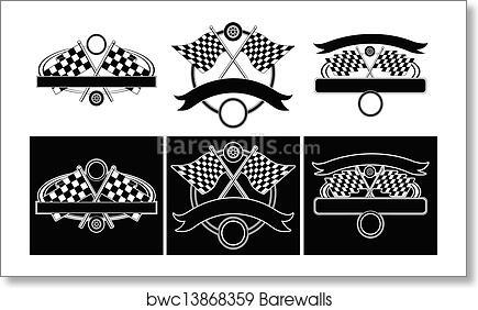 art print of racing design templates barewalls posters prints
