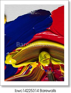 art print of primary colours barewalls posters prints bwc14225314