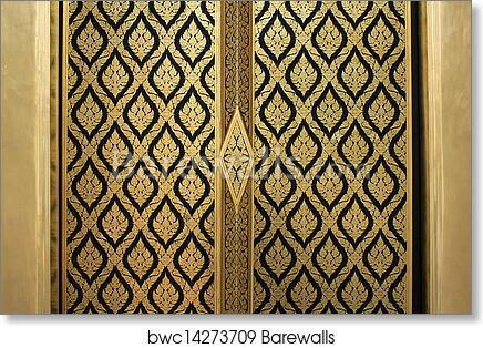 sc 1 st  Barewalls & Art Print of Lai-thai door | Barewalls Posters u0026 Prints | bwc14273709
