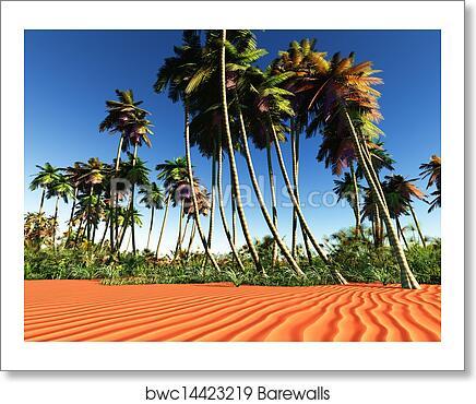African Oasis Art Print Barewalls Posters Prints Bwc14423219