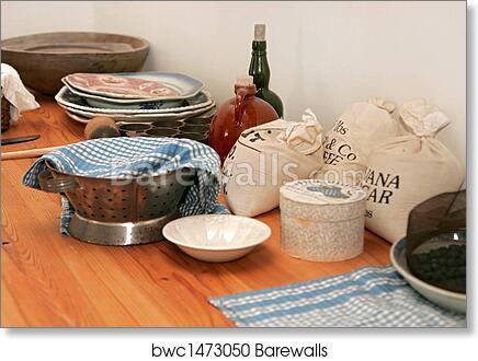 Art Print of American Revolution kitchen | Barewalls Posters ...
