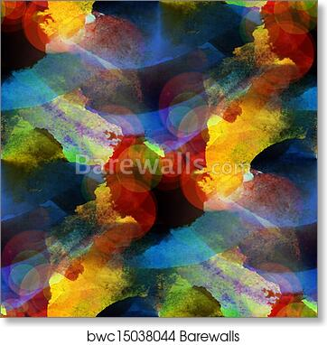 Abstract Art Painting Yellow