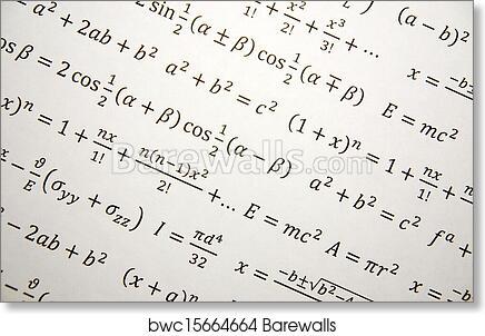 Art Print of Math geometry background | Barewalls Posters & Prints ...