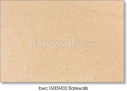 Art Print Of Craft Paper Barewalls Posters Prints Bwc16009432