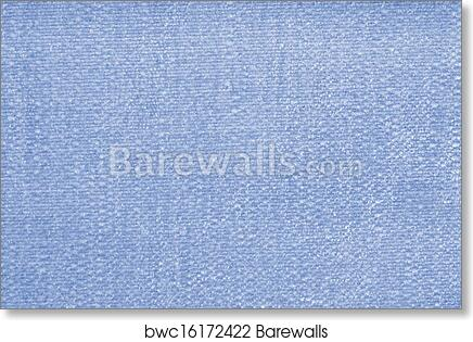 Art Print Of Light Blue Carpet Background Or Texture