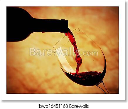 Bicchiere Di Vino Rosso 2 Art Print Barewalls Posters Prints Bwc16451168