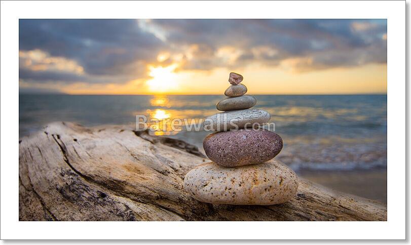 Zen Stones Art Print Home Decor Wall Art Poster C Ebay