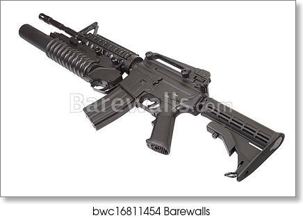 M4a1 carbine assault rifle m203
