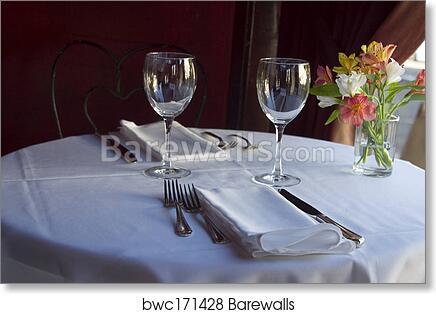 Art Print of Table Setting 5   Barewalls Posters & Prints   bwc171428
