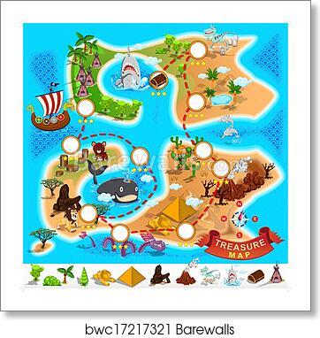 Free Treasure Map Clipart Black And White, Download Free Clip Art, Free Clip  Art on Clipart Library