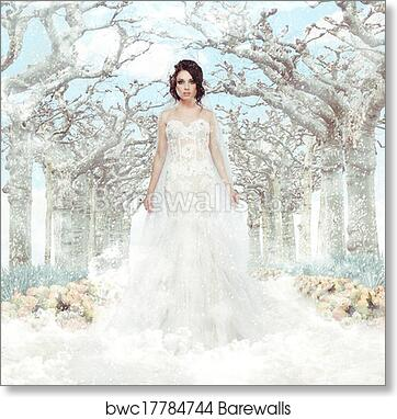 Fantasy Wedding Dress Art