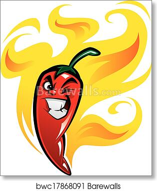 Paprika Pepper Canvas Red Yellow Food Panorama Wall Art Picture Home Decor