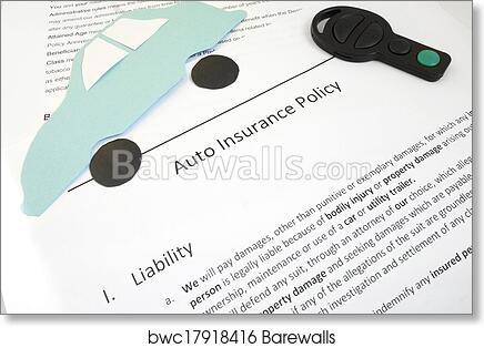 Art Print Of Auto Coverage Barewalls Posters Prints Bwc17918416