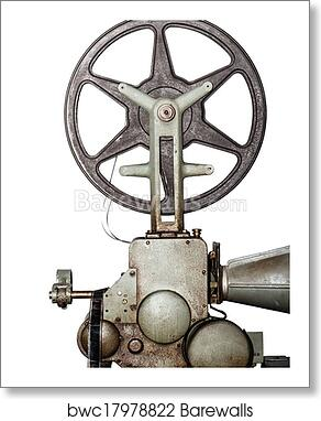 Art Print Of Old Projector