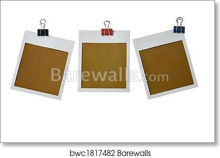 Art Print of Polaroid frames   Barewalls Posters & Prints   bwc1817482