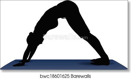 Sun Salutation /'A/' Yoga Pilates Poses Health Fitness Home Decor Metal Sign