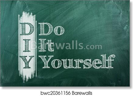 Art print of do it yourself barewalls posters prints bwc20361156 art print of do it yourself solutioingenieria Gallery