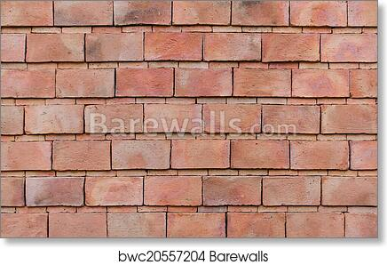 Art Print Of Red Brick Wall Background
