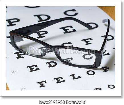 Art Print Of Eye Exam Barewalls Posters Prints Bwc2191958