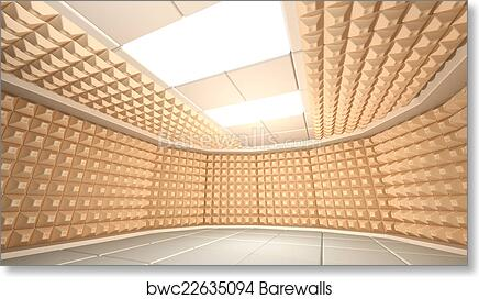 Art Print of Soundproof room | Barewalls Posters & Prints | bwc22635094