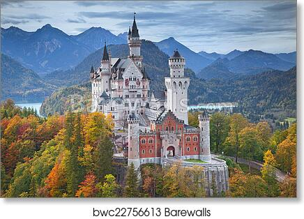 Neuschwanstein Castle Germany 1 Art Print Canvas Print