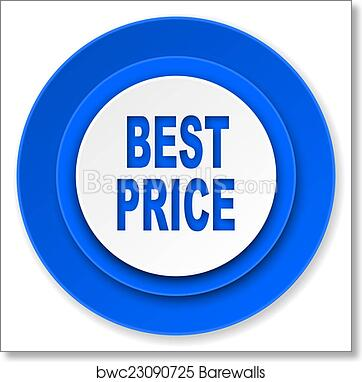 art print of best price icon barewalls posters prints bwc23090725