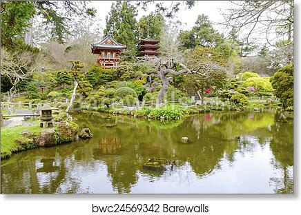 Art Print of Japanese Tea Garden, San Francisco | Barewalls Posters ...