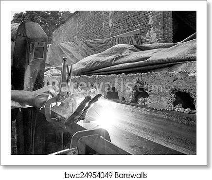 Stick Welding Art Print Barewalls Posters Prints Bwc24954049
