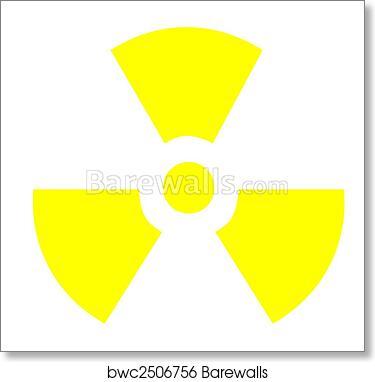Art Print Of Radioactive Symbol Barewalls Posters Prints