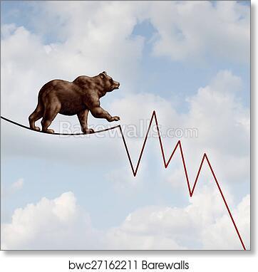 bear market risk?ph=8.0&pw=8.0&print_border=0.5&fit=false&flip=false&stretch_to_fit=false&print_colorfilter=no_filter&bits=&side_style=&units=in&frame_id=0&frame_type=custom&show_banner=true&artist_attr_name=false&artist_attr_show=true&artist_attr_title=false&artist_attr_format=stacked&artist_attr_font=Palatino Roman&artist_attr_size=medium&custom_x_pct=&custom_y_pct=&custom_w_pct=&custom_h_pct=&bleed_size=&is_custom=false&can_edit_frame=true&object_width=8.0&object_height=8.0&fit_select=False&internal_sku=&m1= 1&m2= 1 art print of bear market risk barewalls posters & prints bwc27162211