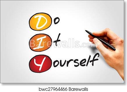 Art print of do it yourself barewalls posters prints bwc27964466 art print of do it yourself solutioingenieria Gallery