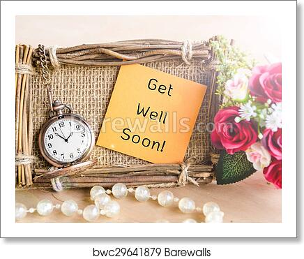 Art print of get well soon greeting card barewalls posters art print of get well soon greeting card m4hsunfo