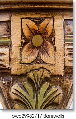 Art Print Of Wood Inlay
