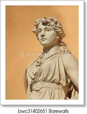 The Goddess Of Love Aphrodite Venus Art Print Poster