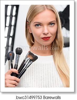 Makeup Artist Showing Professional
