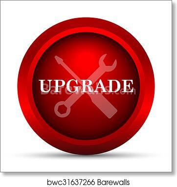 Art Print Of Upgrade Icon