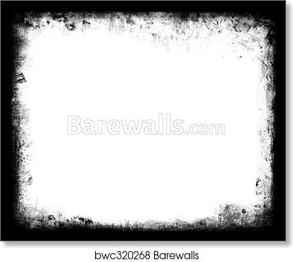 Art Print of Grunge Frame Element | Barewalls Posters & Prints ...