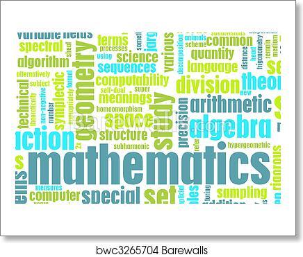 Art Print of Mathematics | Barewalls Posters & Prints | bwc3265704